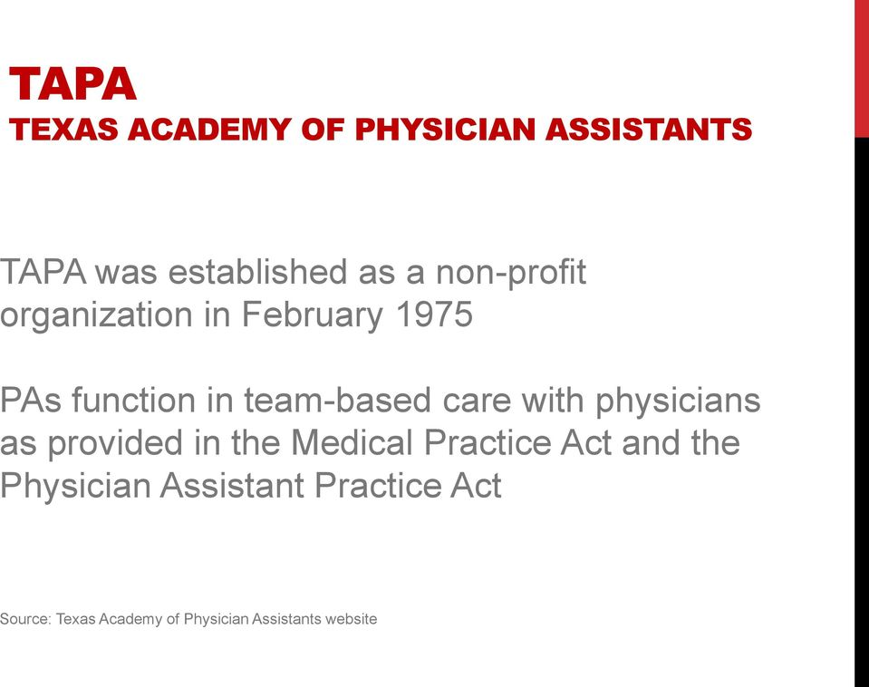 with physicians as provided in the Medical Practice Act and the