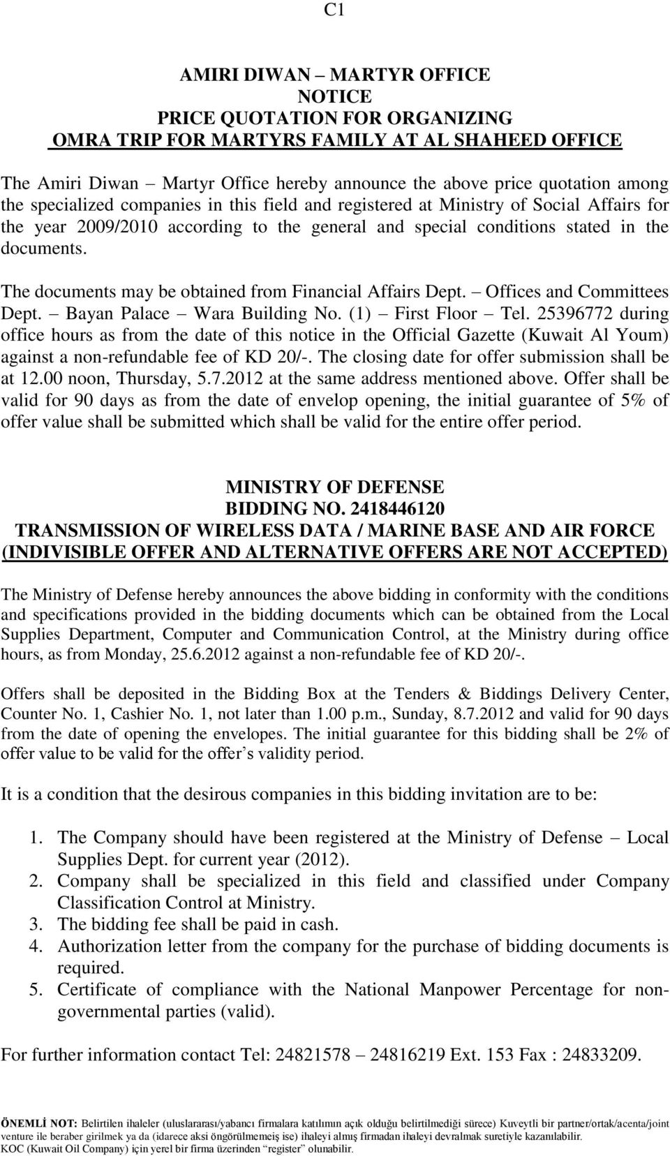 INVITED TENDERS TENDER NO  QS/T/286 A P  8  General