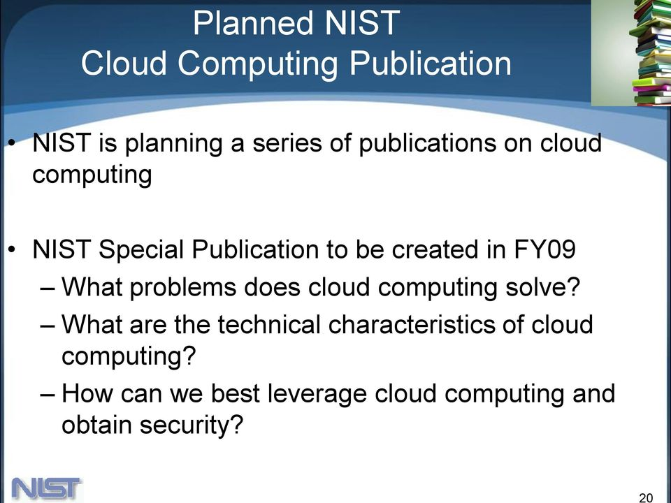 What problems does cloud computing solve?