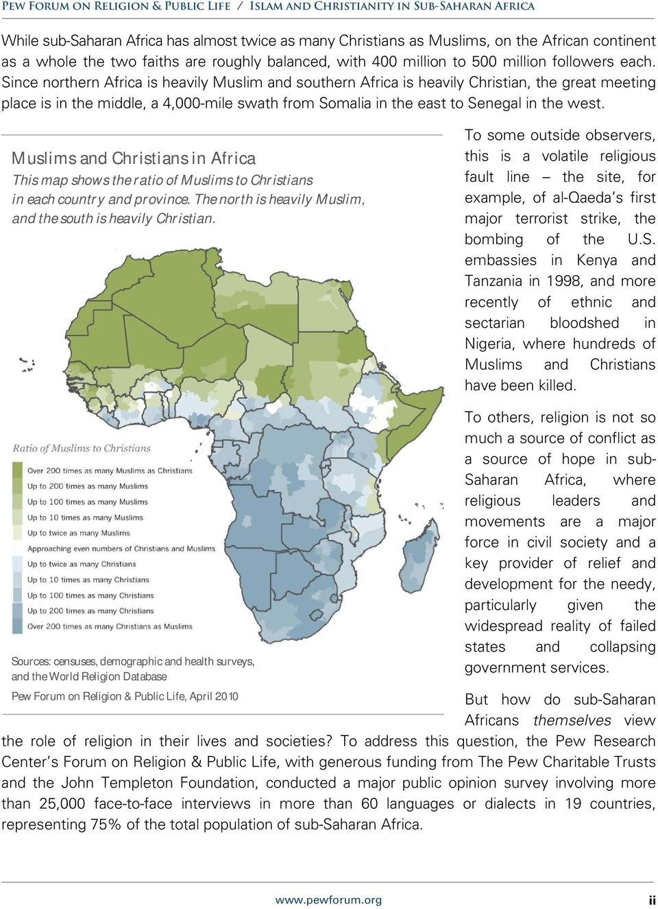 Growth Of Islam Christianity In Sub Saharan Africa Since Pdf