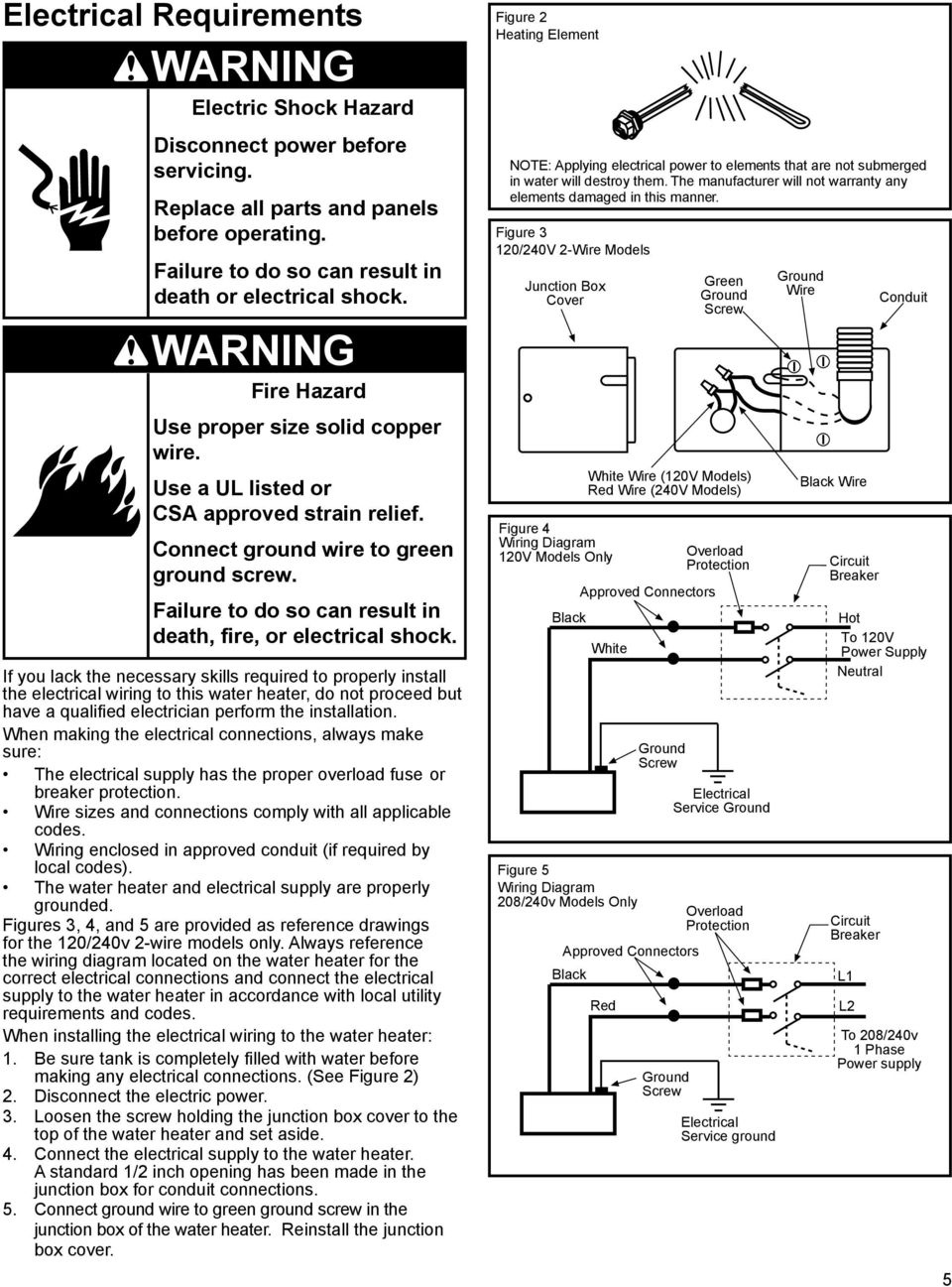 Residential Electric Water Heater Pdf Free Download