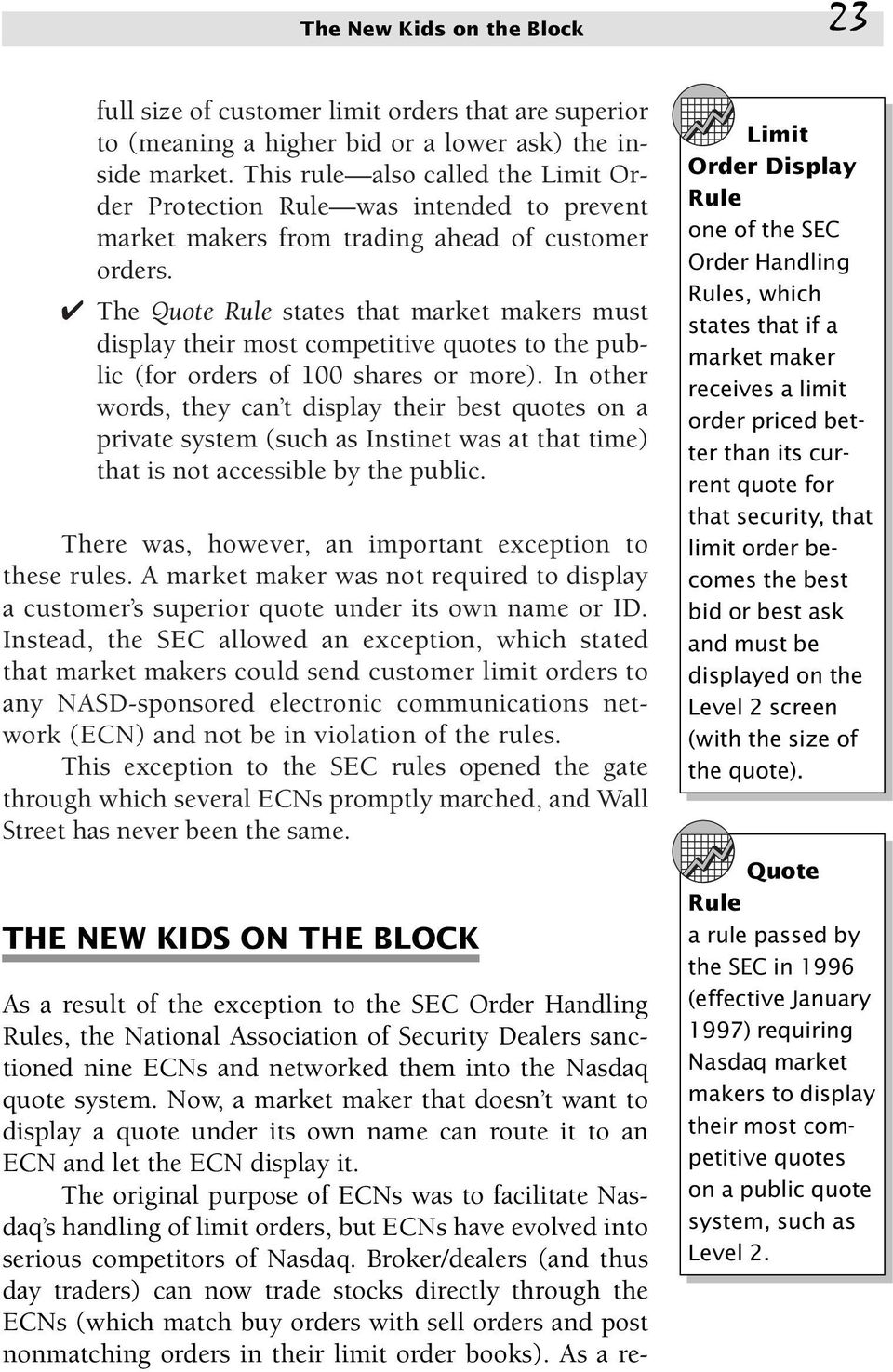 Chapter The Playing Fields Nasdaq And The Nyse Pdf