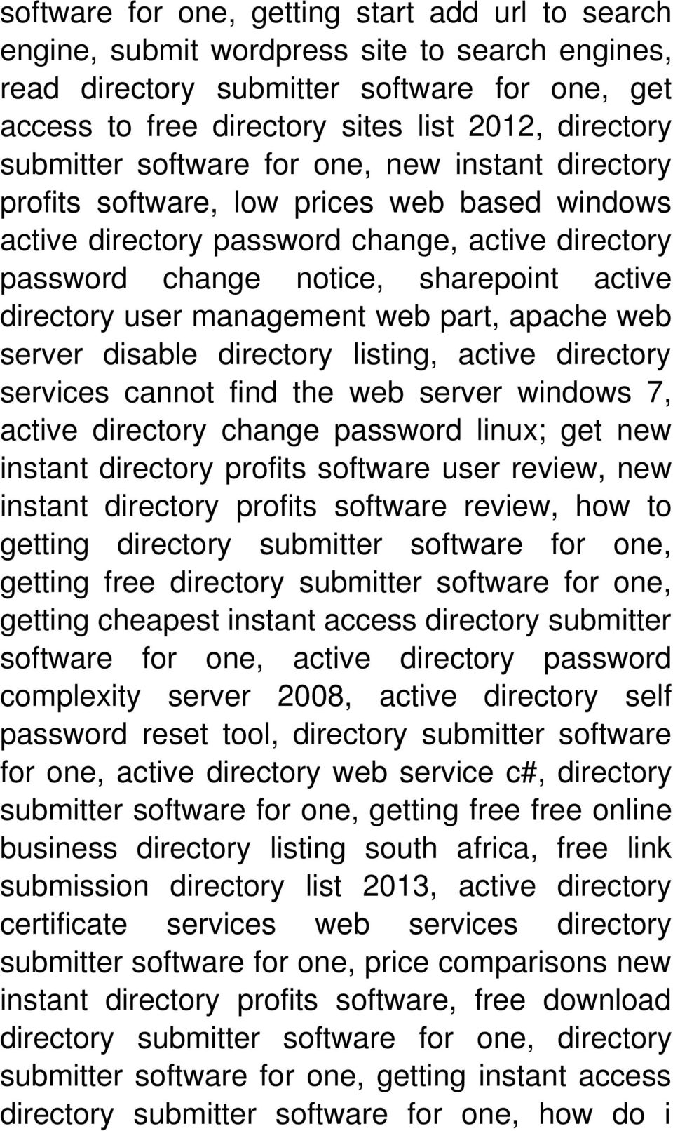 user management web part, apache web server disable directory listing, active directory services cannot find the web server windows 7, active directory change password linux; get new instant