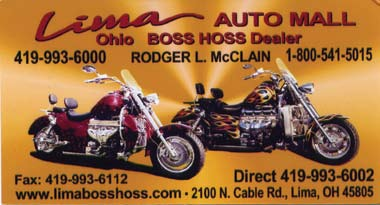country spring Official Publication of the Boss Hoss Riders