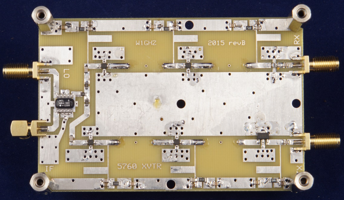 A Simple Low-cost 5760 MHz Transverter for the Rover - PDF