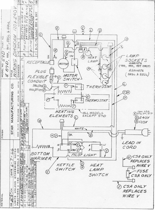 Roosevelt Popper Popcorn Machine Wiring Diagram