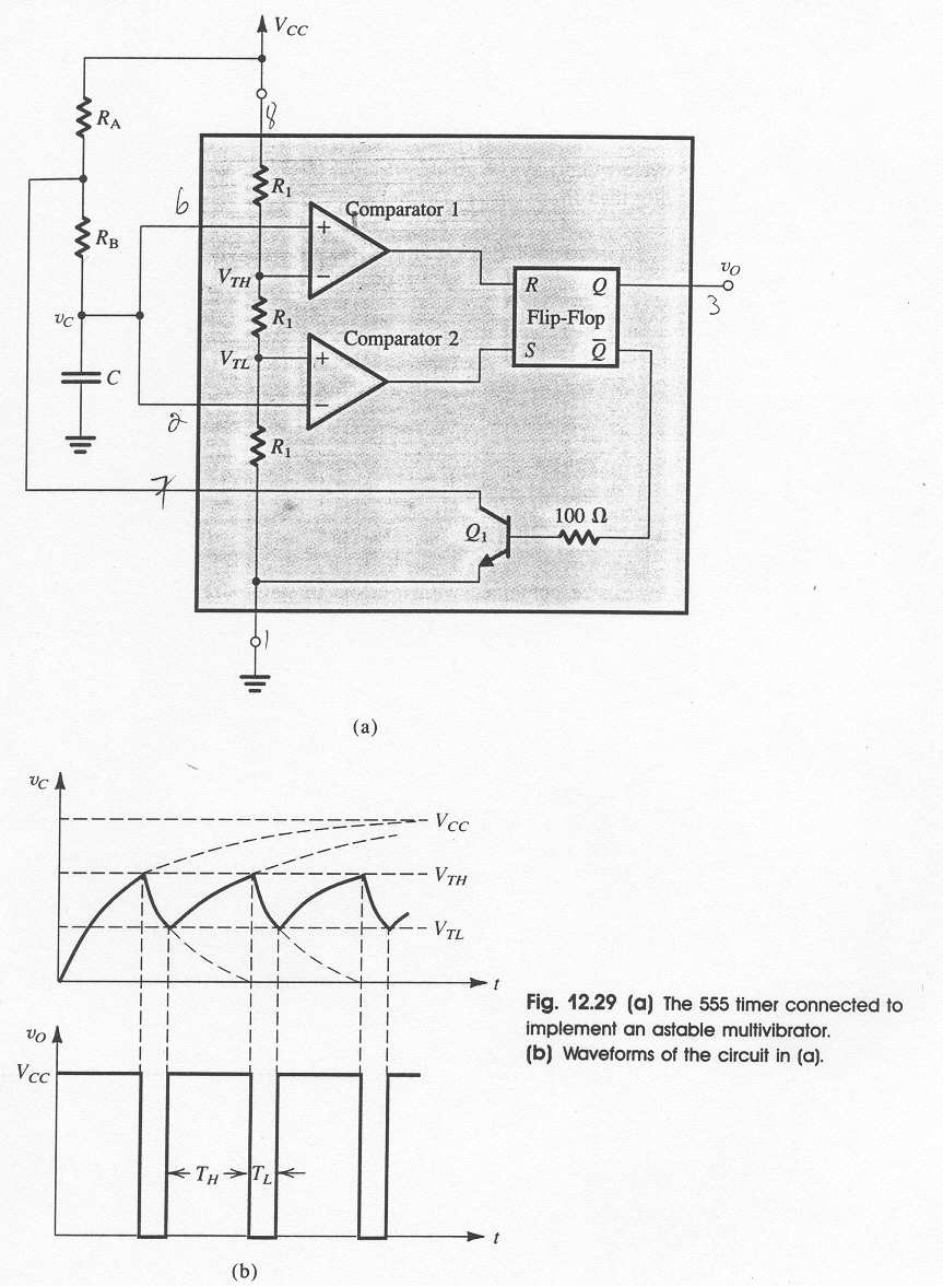 Chapter 3 Oscillators And Waveform Shaping Circuits Pdf Oscillator 555 50 Duty Cycle Circuit Schematic Diagram Astable Using