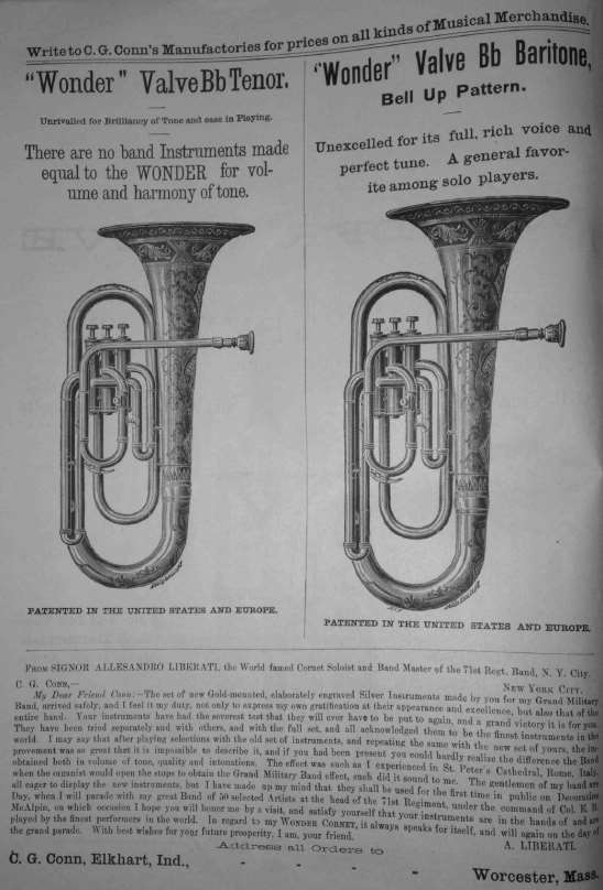 C G  Conn Tuba Designs from : An Investigation of Early Tuba