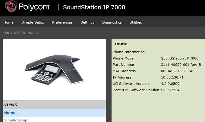 Application Notes for Polycom SoundStation IP with Avaya Aura