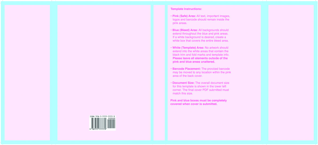 White Or Pink Document Covers