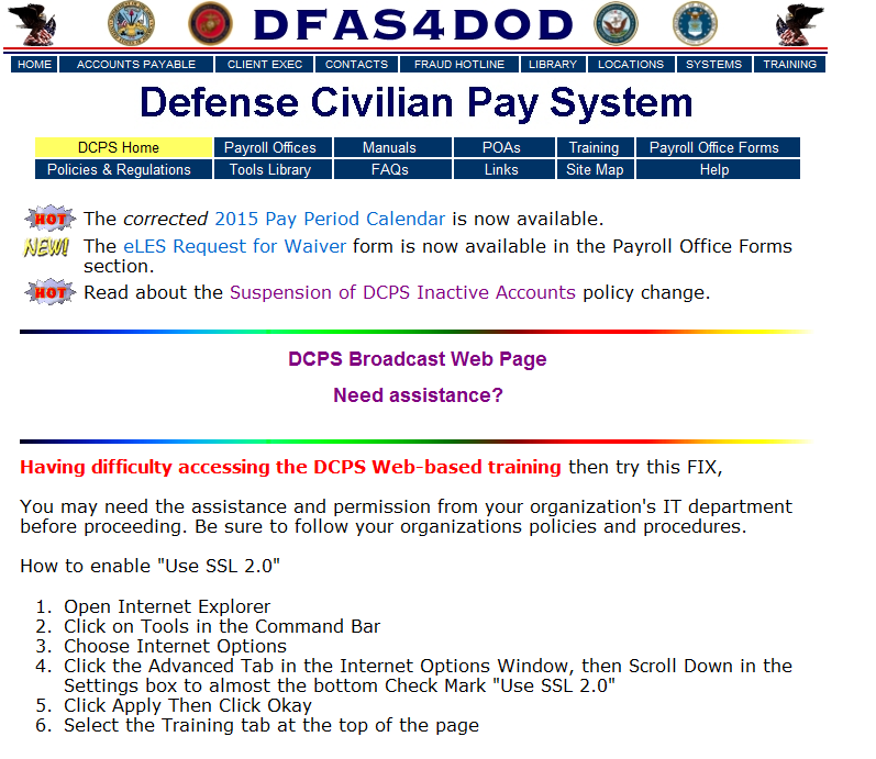 OVERVIEW of DEFENSE CIVILIAN PAYROLL SYSTEM (DCPS) - PDF