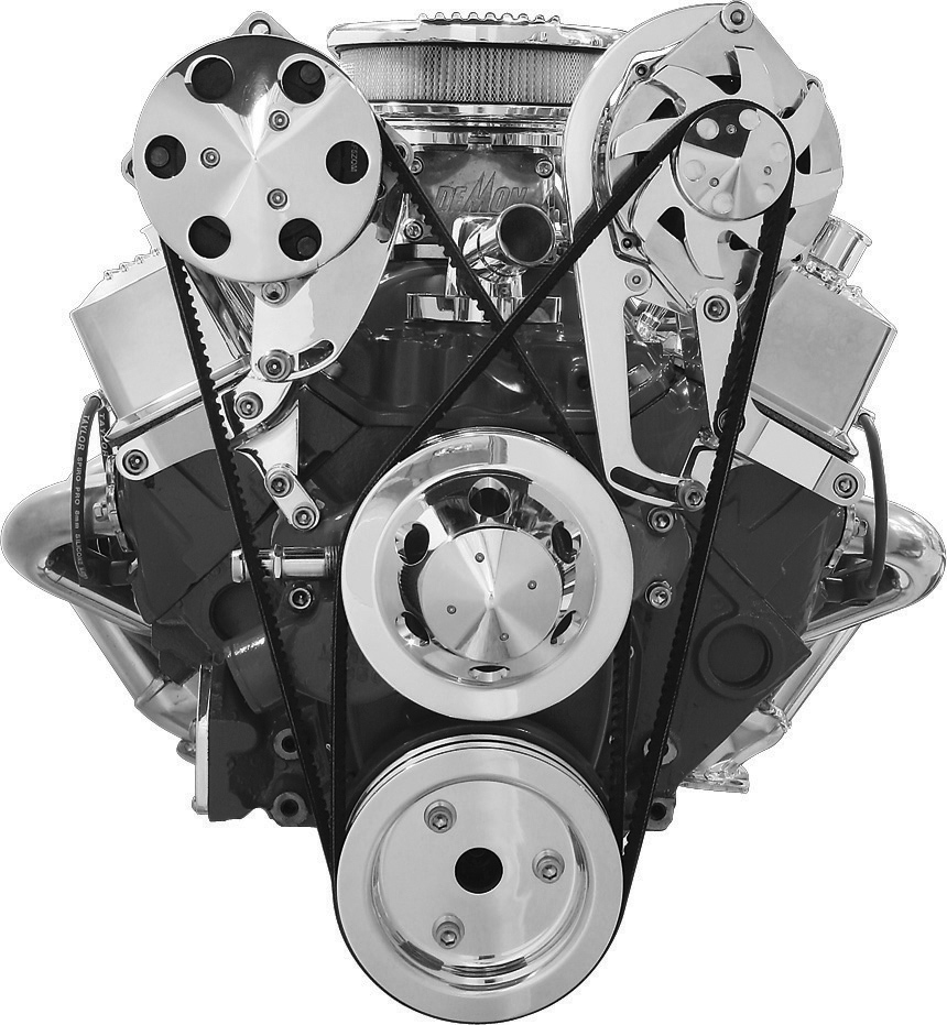 Engine Components Featured Items In Billet 196567 Bb Power Steering Pump Corvette Parts And Accessories Specialties Independent Mount Brackets Top Standard Heads Short Water Small Block Chevrolet