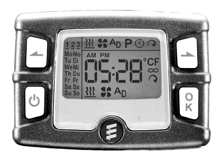 Easystart T Operating Instructions Comfort Timer With 7 Day Preset