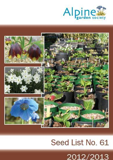 Welcome To The Alpine Garden Society S 61st Seed List Pdf