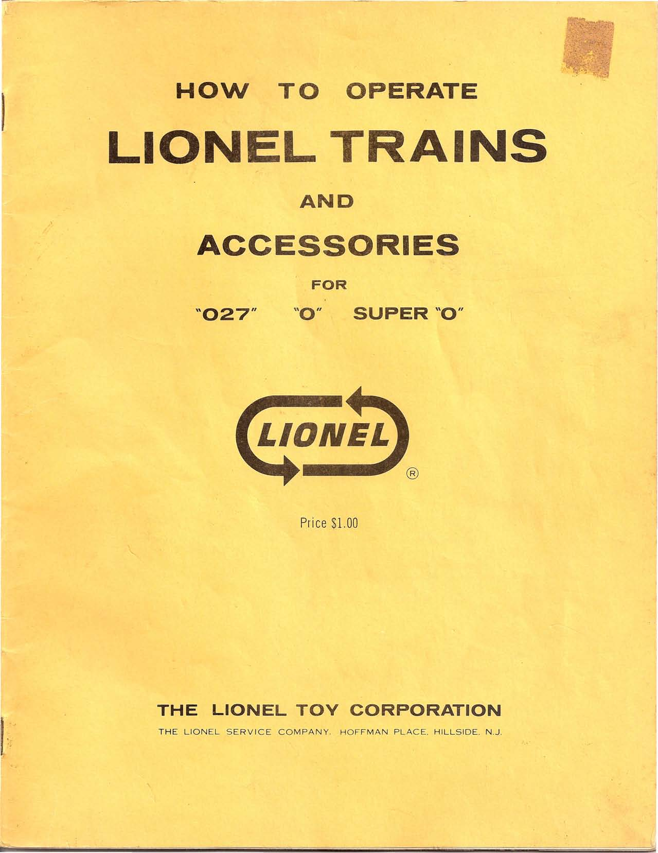 How To Operate Lionel Trains Accessories Pdf Wiring Block Signal Transcription