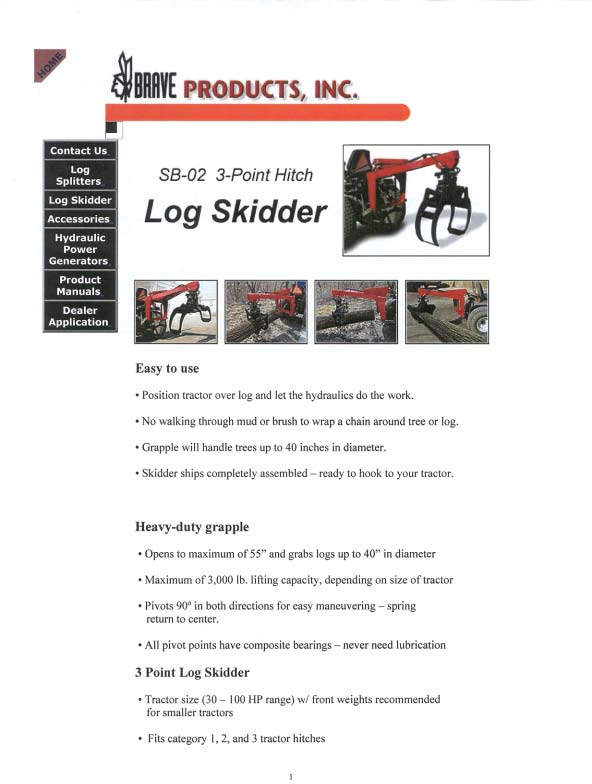 SKIDDERS  SKIDDERS Wheeled  Allied Systems CAT 515 CAT 525B