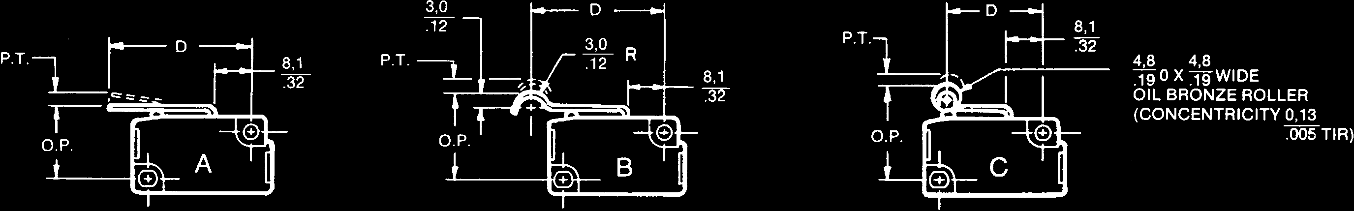 Analog Position Sensors Pdf Typical Hall Effect Sensor Wiring Details Image Pdfinfo P A G E 0 4 8 Solid State Basic Switch Vx Series Features