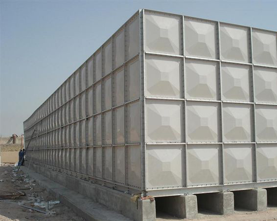 MANUFACTURER OF GRP & PRESSED STEEL SECTIONAL WATER TANKS - PDF