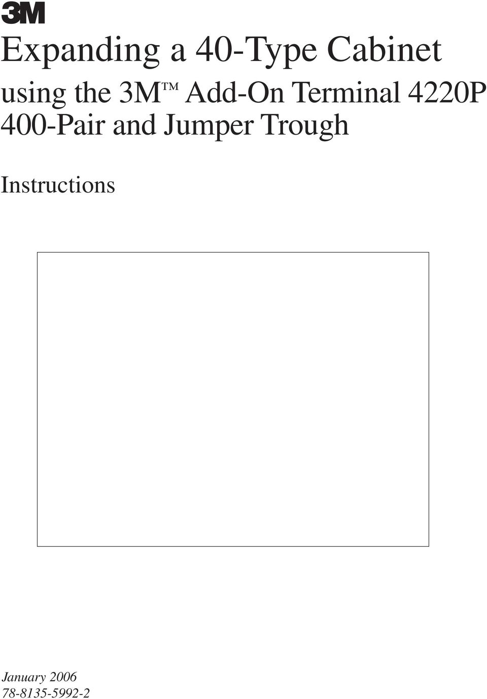 4220P 400-Pair and Jumper