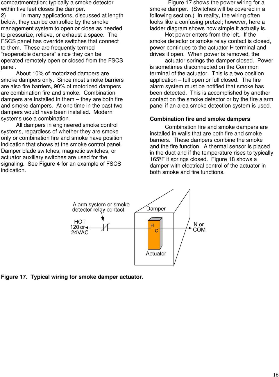 I. Basic Smoke Control Strategy and Tactics - PDF on boiler relay, switch relay, air handler relay, heater relay, air conditioning relay, pin relay, brake relay, furnace relay, thermostat relay, ic relay, control relay, argo switching relay, crank relay, compressor relay, battery relay, transmission relay, starter relay, alternator relay, motor relay,