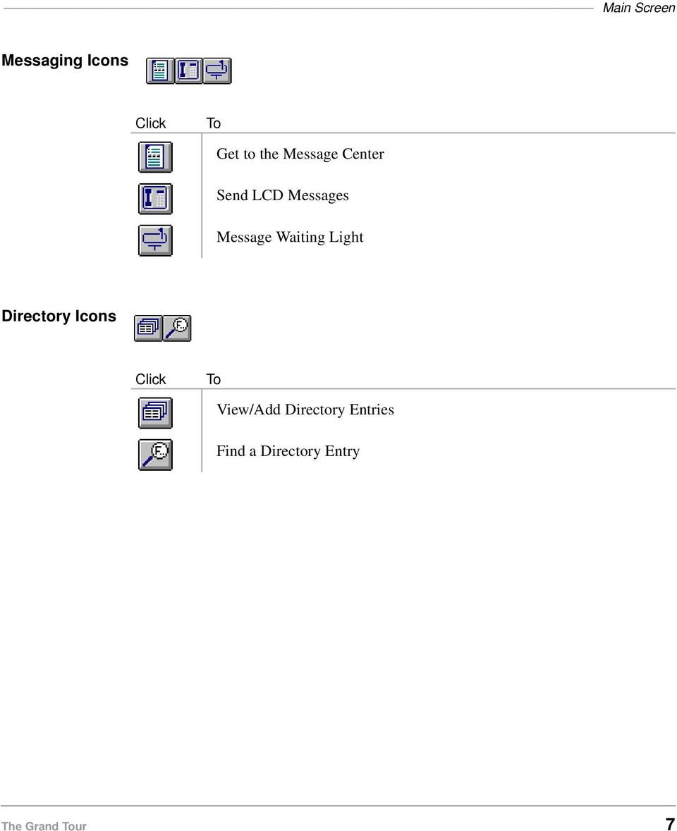 Light Directory Icons Click To View/Add