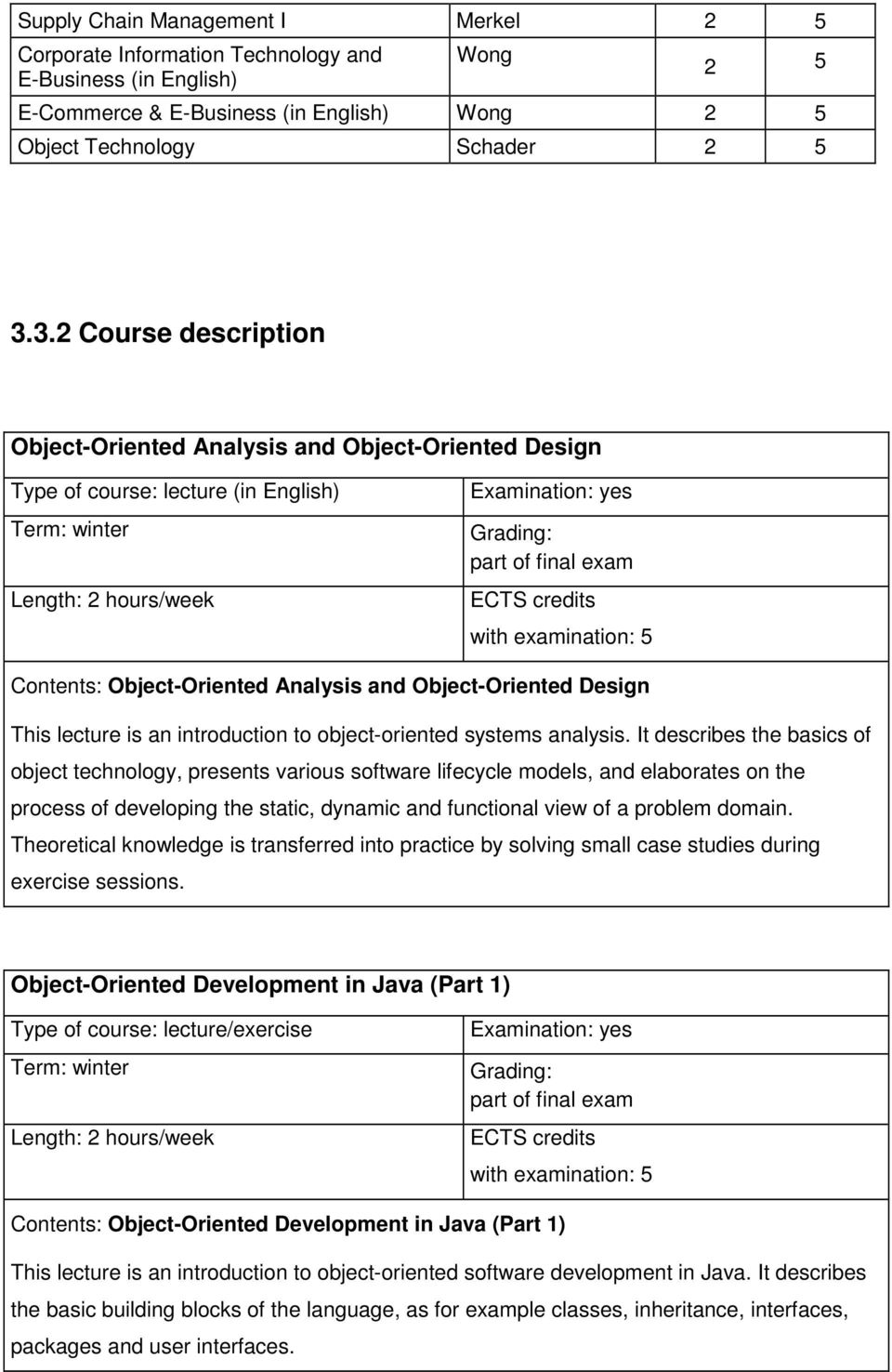 introduction to object-oriented systems analysis.