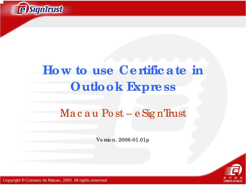 How To Use Certificate In Outlook Express Pdf