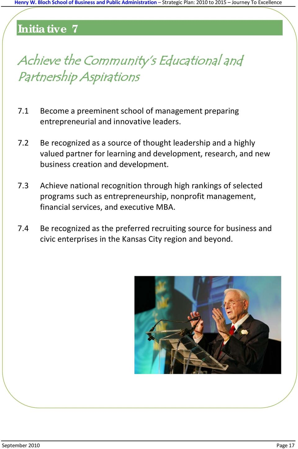 Journey to Excellence - PDF