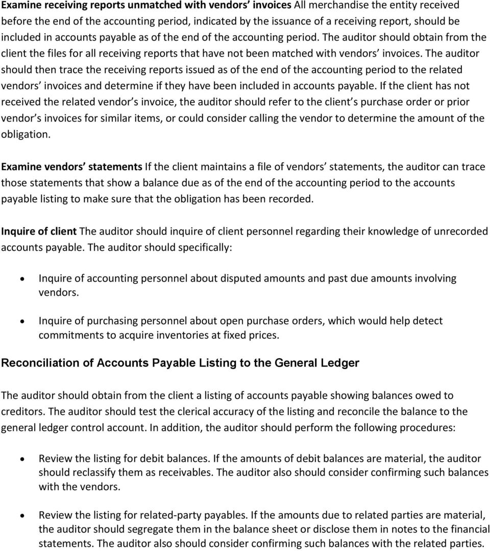 Chapter 15: Accounts Payable and Purchases - PDF
