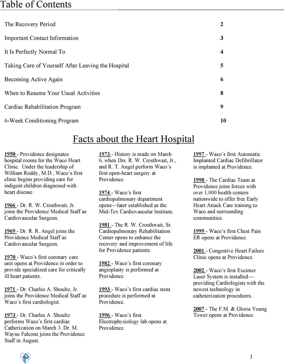 Facts About The Heart Hospital Pdf Free Download