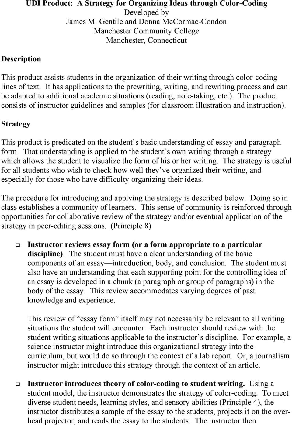 components of an essay basic components of an essay