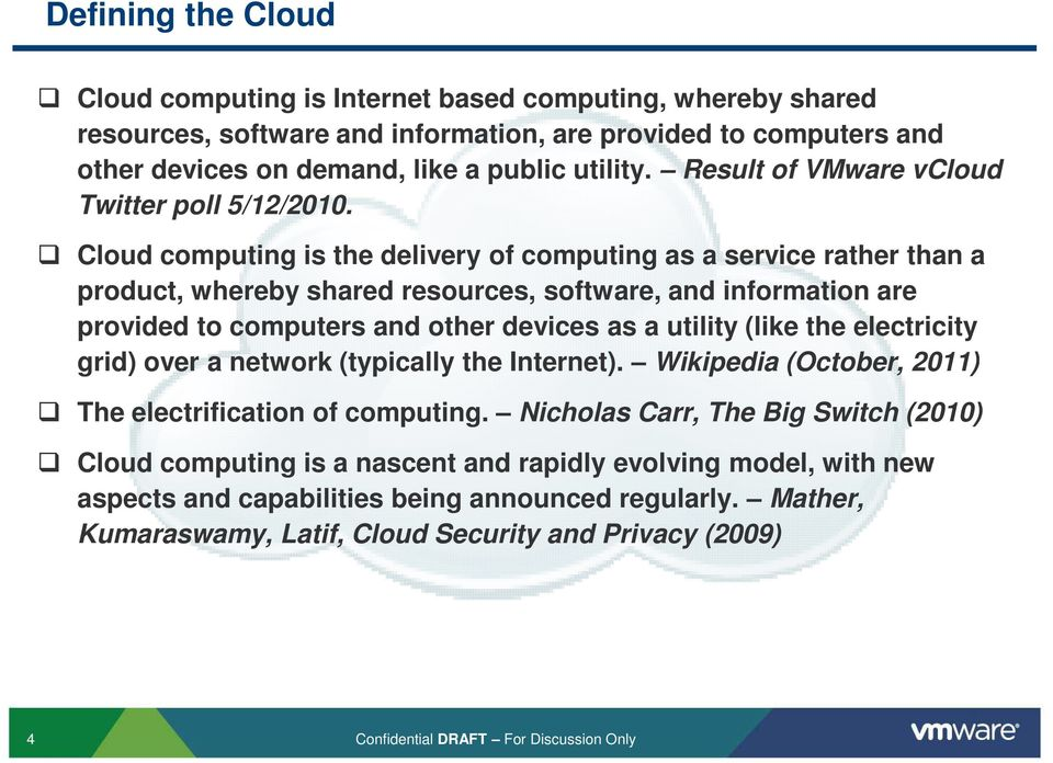 Cloud computing is the delivery of computing as a service rather than a product, whereby shared resources, software, and information are provided to computers and other devices as a utility (like the