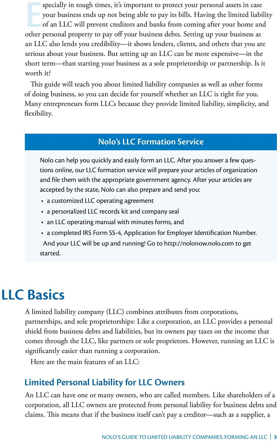 Nolo Nolo S Guide To Limited Liability Companies Forming An Llc Pdf