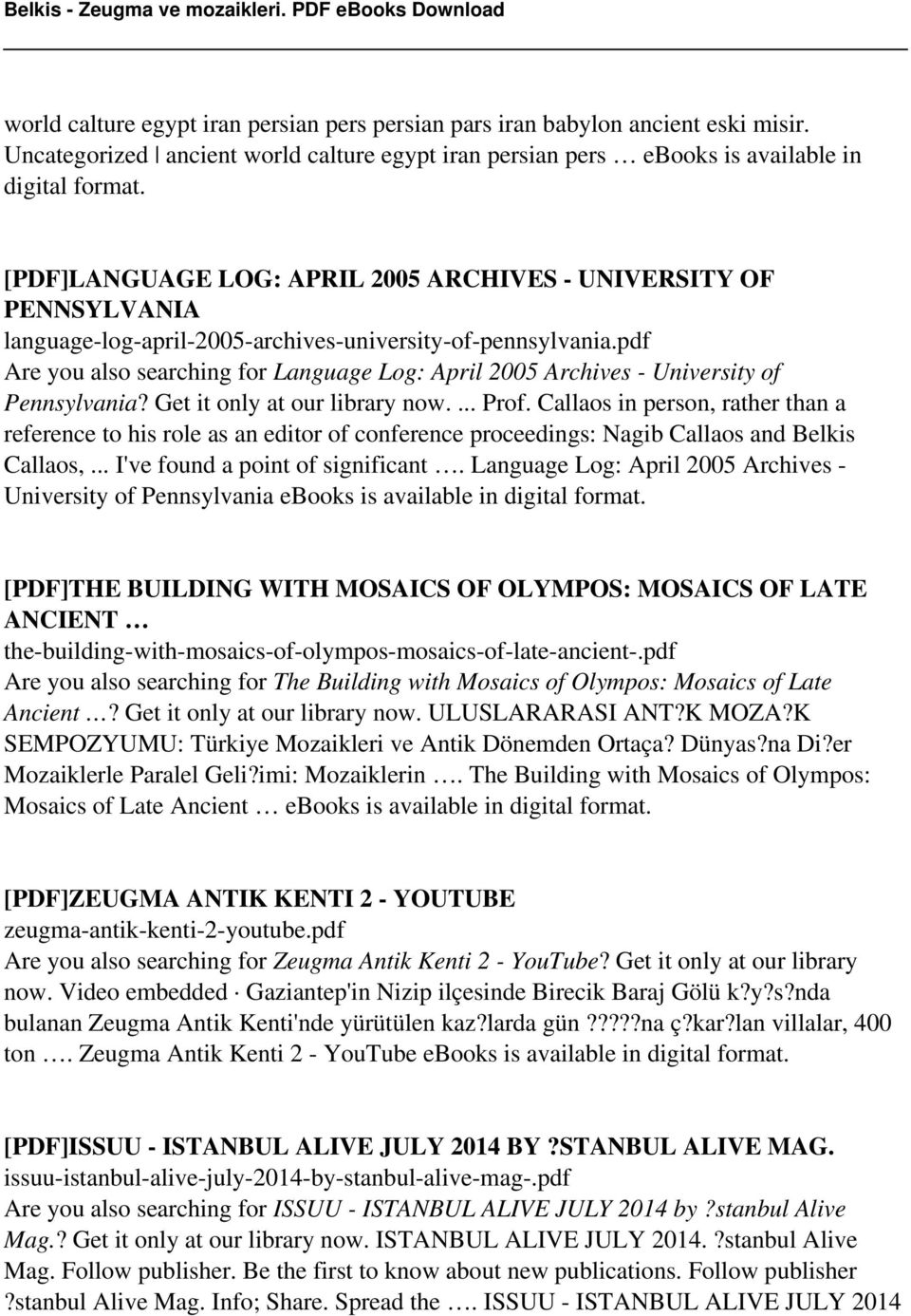 pdf Are you also searching for Language Log: April 2005 Archives -  University of Pennsylvania