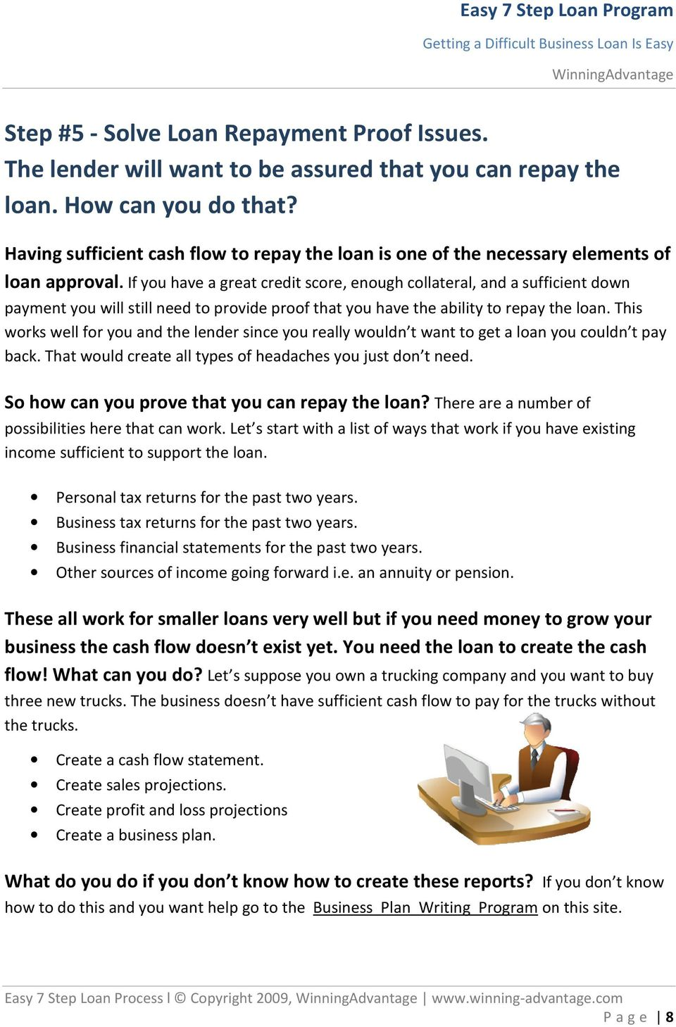 Business Plan Trucking With Financial Projection
