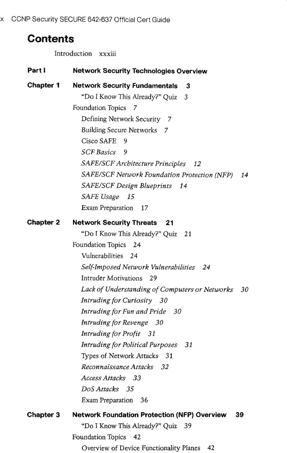 CCNP Security SECURE - PDF