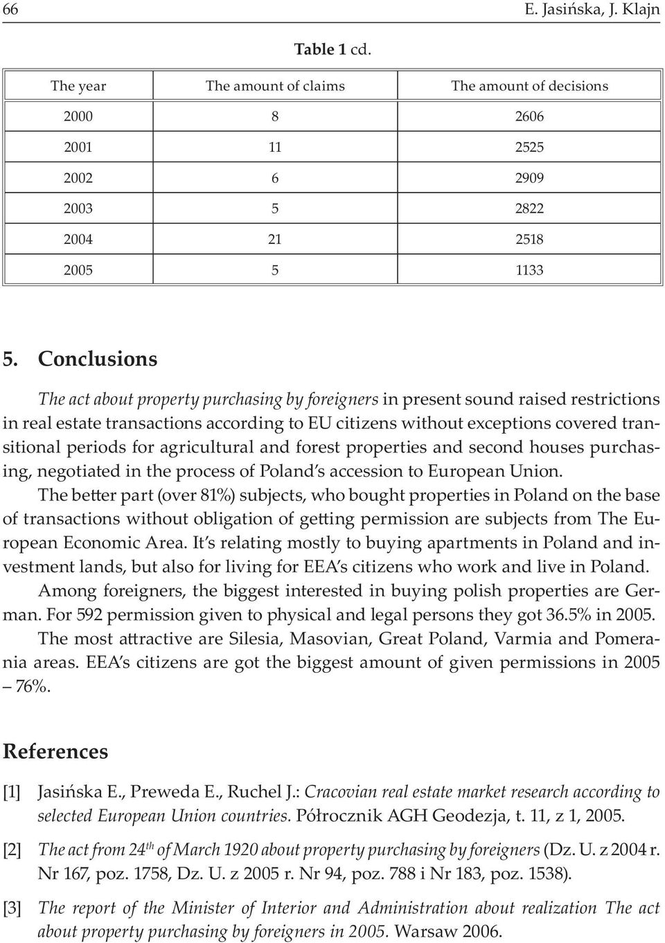 For Agricultural And Forest Properties Second Houses Purchasing Negotiated In The Process Of Poland