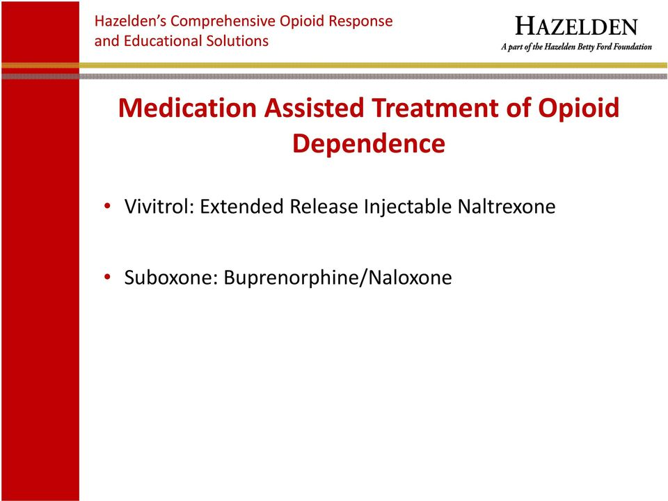 Injectable Naltrexone Suboxone: