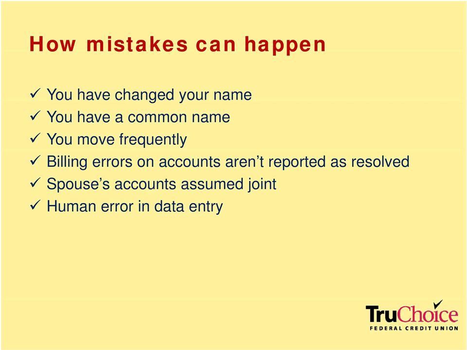 errors on accounts aren t reported as resolved