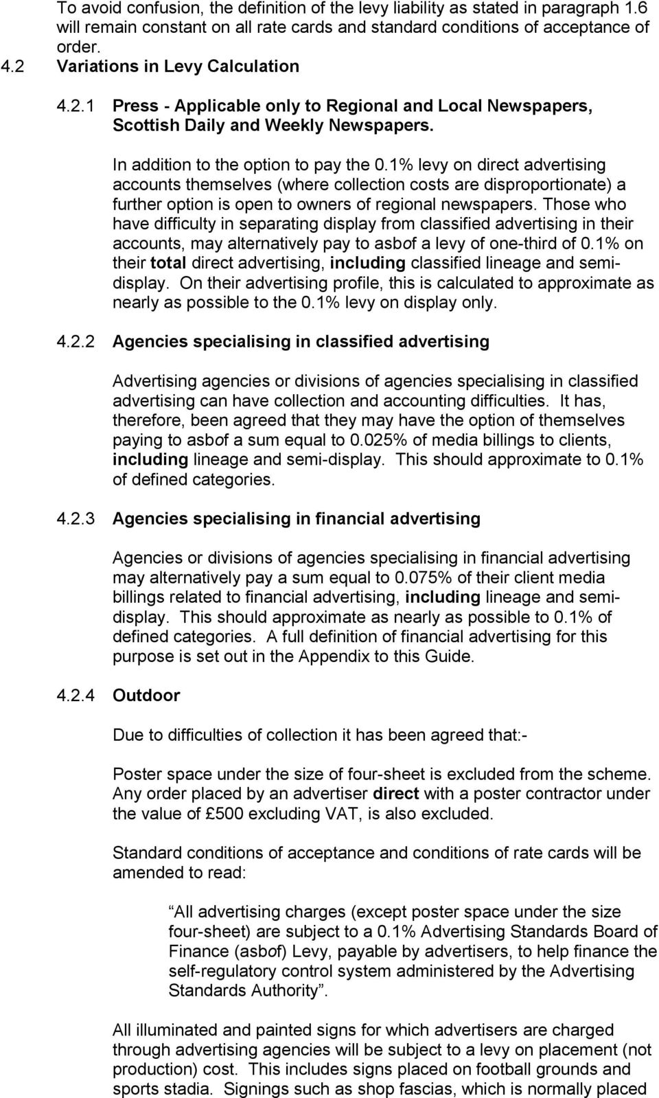 asbof: The Advertising Standards Board of Finance Guide to