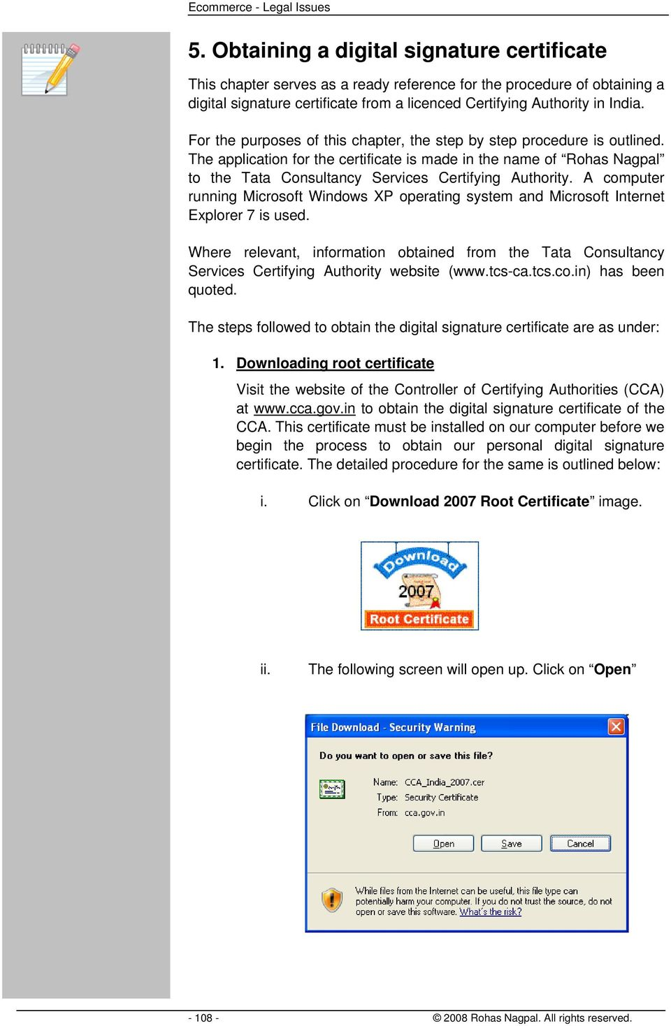 Obtaining A Digital Signature Certificate Pdf