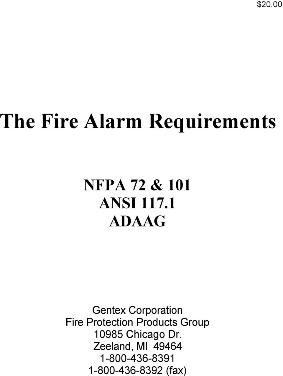 The Fire Alarm Requirements - PDF