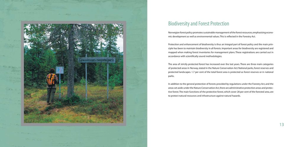functions of forest resources