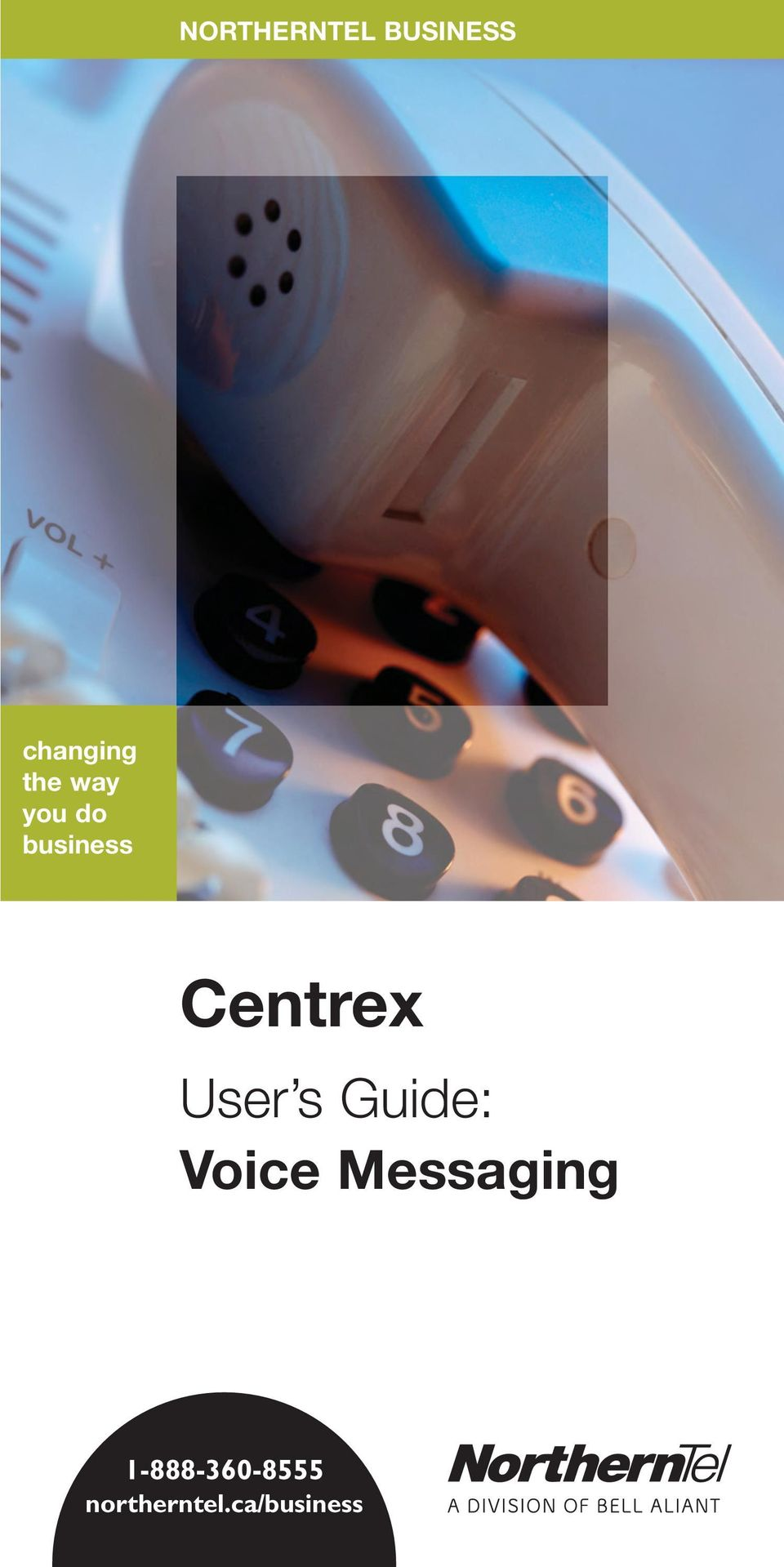 Centrex User s Guide: Voice