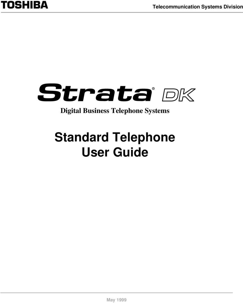 Telephone Systems Standard