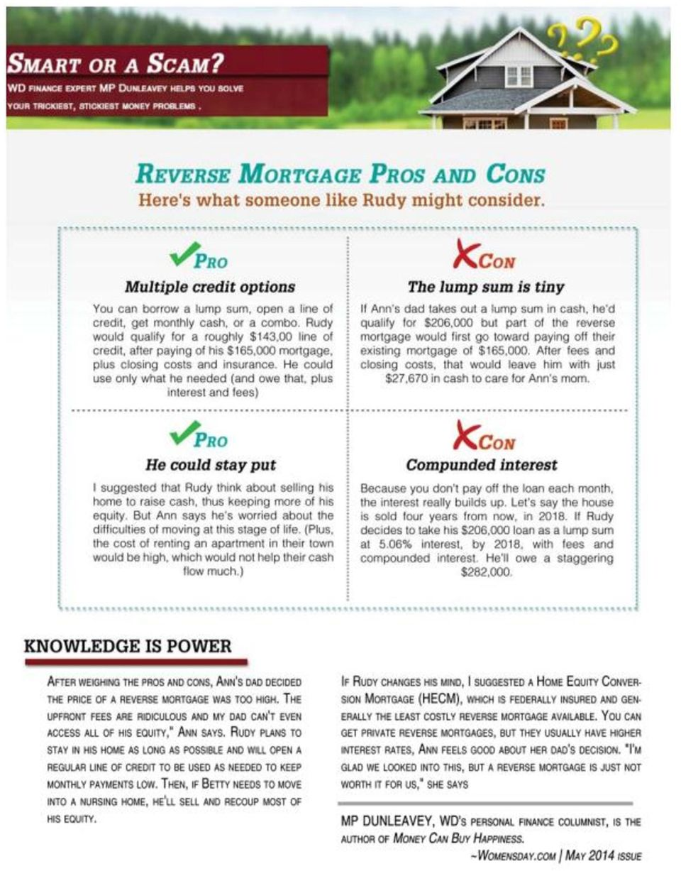Reverse Mortgages: Smart or a Scam