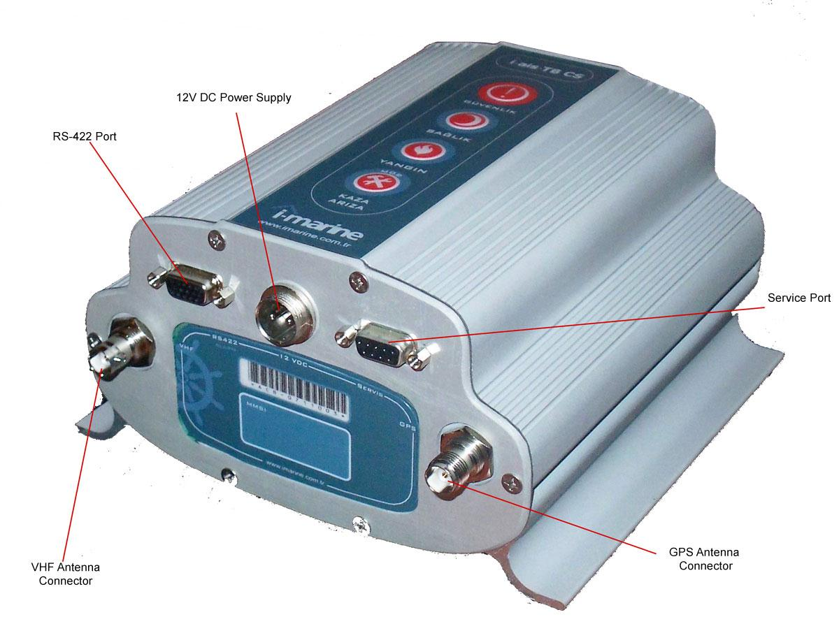 Ais Class B Cs Vhf Transponder Device User Manual And Installation Gps Wiring Diagram Connection Information Materials 1 X