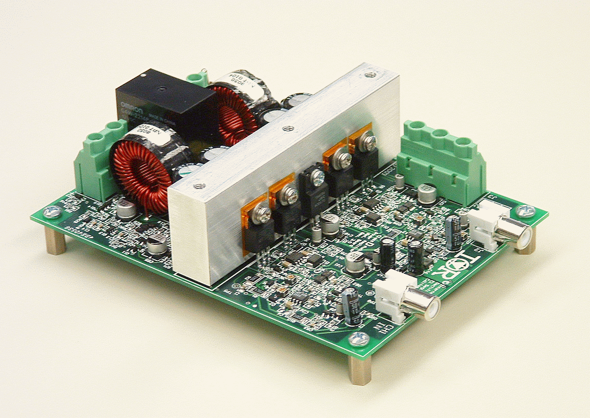 High Power Class D Audio Amplifier Using Ir2011s Pdf Circuit Lm1036 Tone Controlled Irs2092 Iraudamp Ir0s Features Complete Analog Input