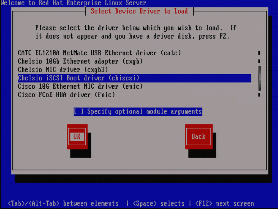 Drivers: Chelsio N320E-G2-CR Server Adapter PXE Option ROM