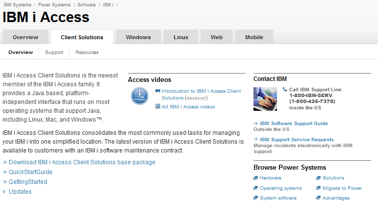 Real-life examples for IBM i Access Client Solutions - PDF